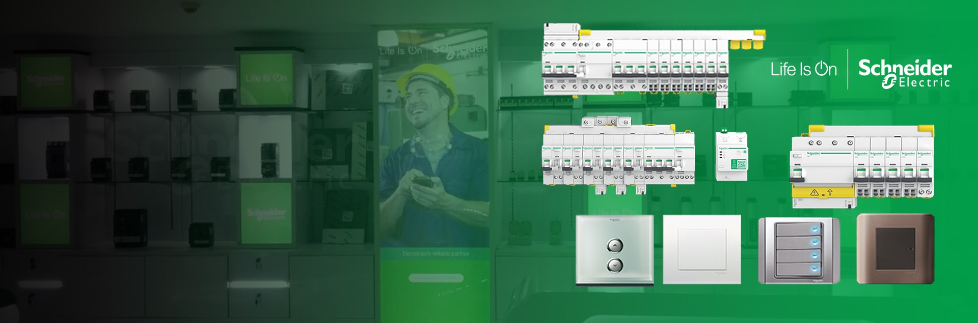 Schneider Electric Equipment in Myanmar
