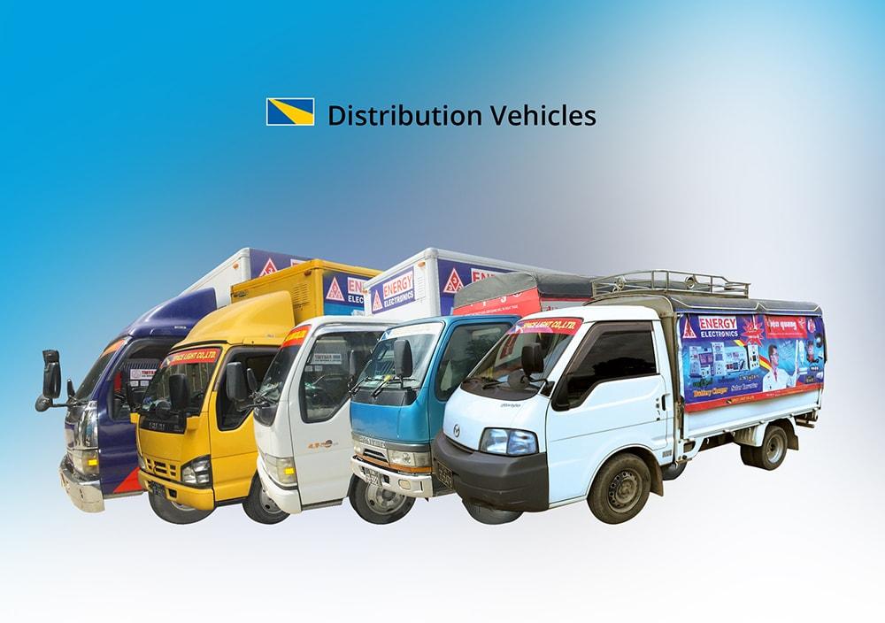 Space Light Distribution Vehicles